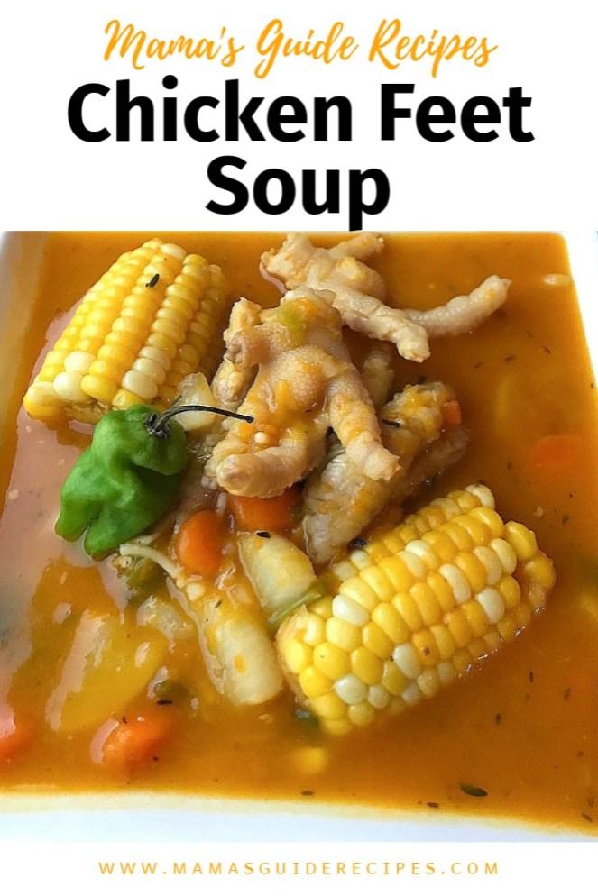 Chicken Feet Soup, Chicken Foot Soup Recipe