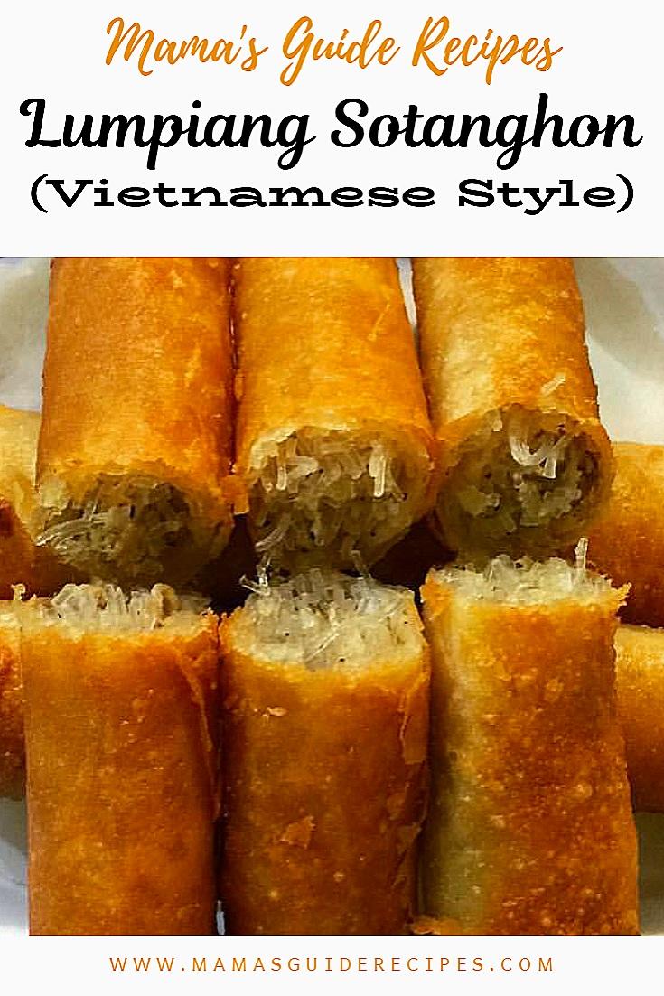 Lumpiang Sotanghon (Vietnamese Style)