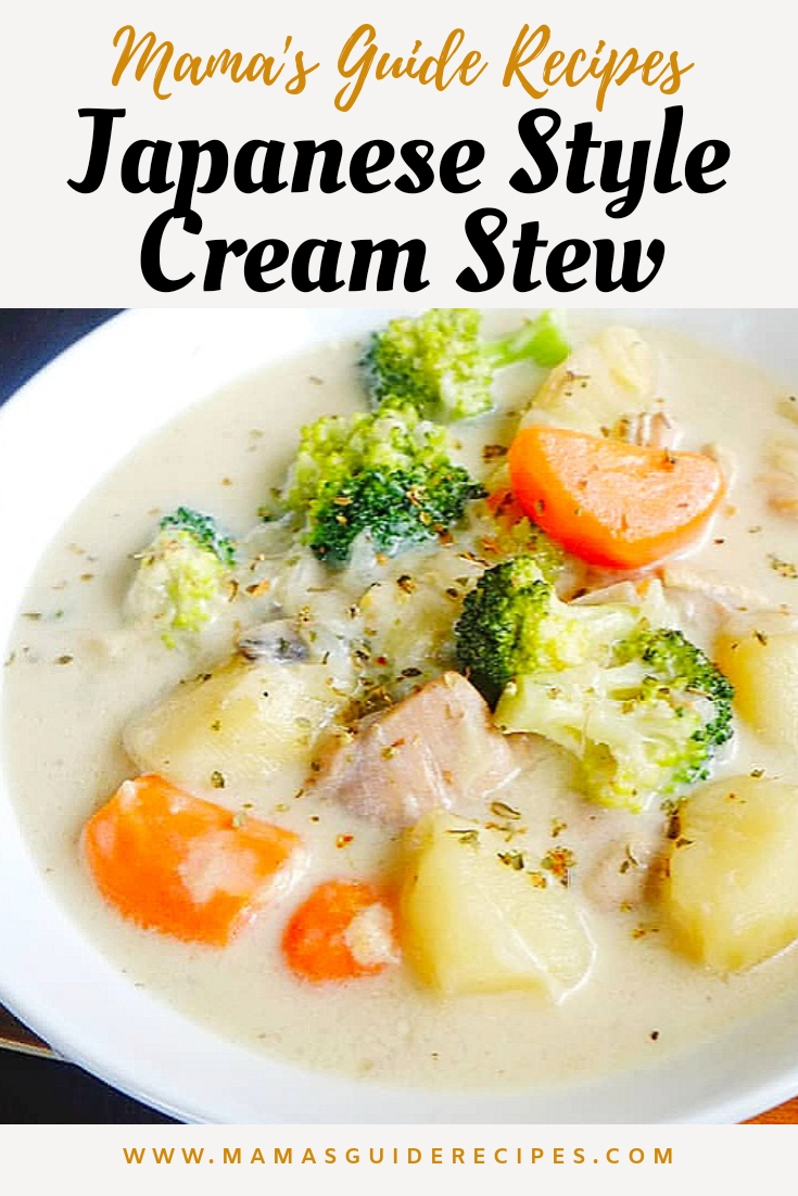 JAPANESE STYLE CREAM STEW