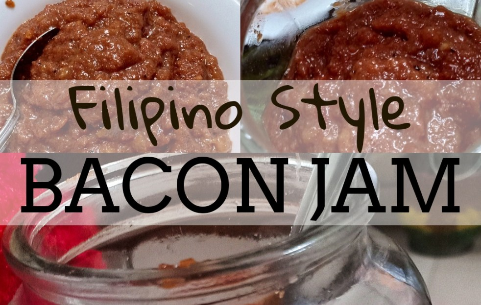 FILIPINO STYLE BACON JAM
