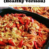 Kids Spaghetti (Healthy Version)