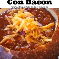 Beef Chili Con Bacon