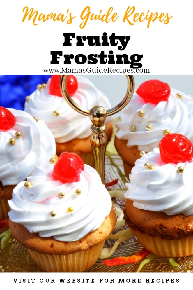 Fruity Frosting