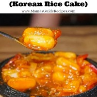 Tteokbokki Recipe (Korean Rice Cake)