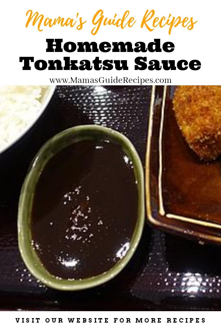 Homemade Tonkatsu Sauce