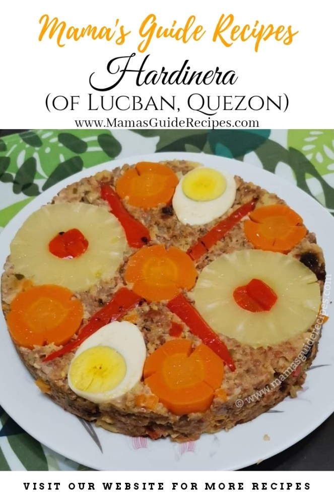 Hardinera Recipe (Lucban, Quezon)