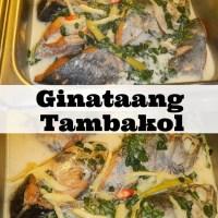 Ginataang Tambakol Recipe