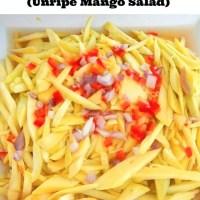 Ensaladang Mangga (Unripe Mango Salad)