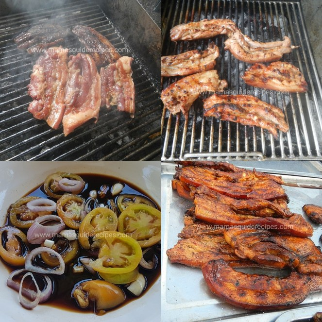 Inihaw na Liempo (Grilled Pork Belly)