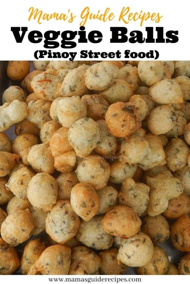 Veggie Balls (Pinoy Street food)