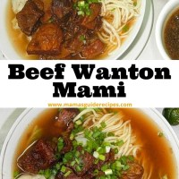 Beef Wanton Mami