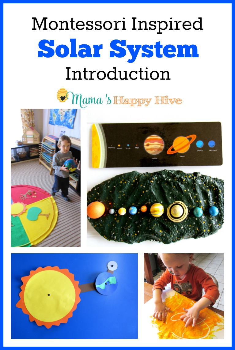 hight resolution of montessori inspired solar system introduction