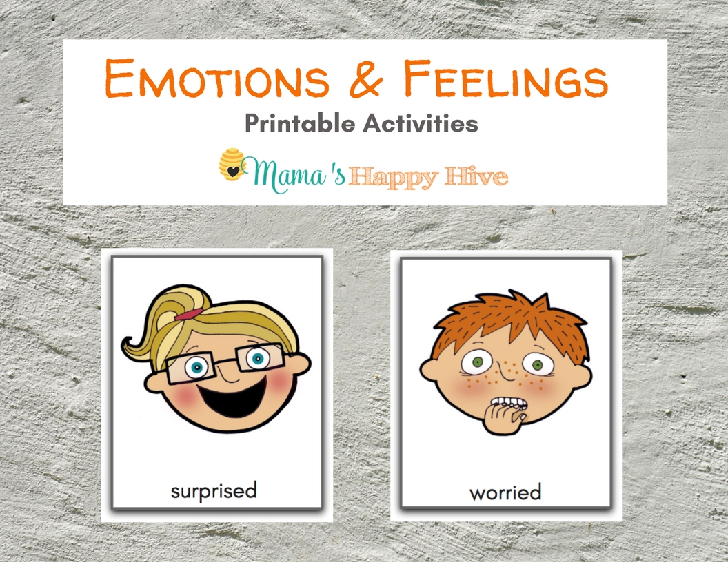 Emotions Faces For Toddlers