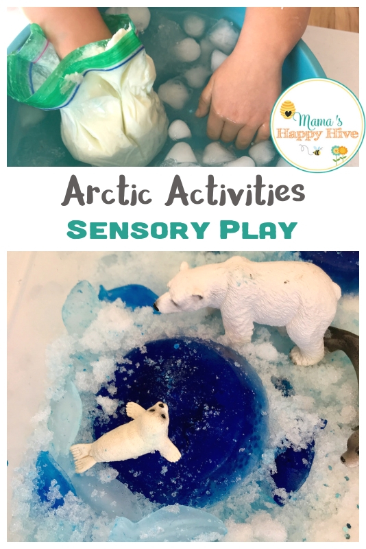 Arctic Activities and Sensory Play for Kids with Printables