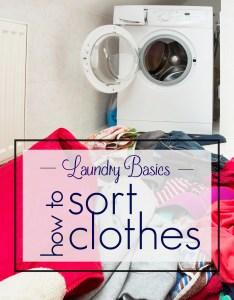 also laundry basics how to sort clothes mama   talk rh mamaslaundrytalk
