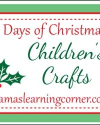 Children's Crafts: Sequined Christmas Ornaments