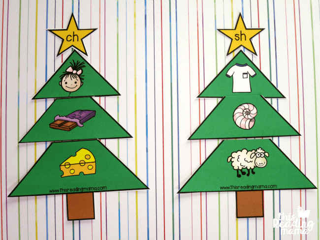 Christmas Tree Initial Blends and Digraphs