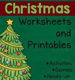 The Ultimate Guide to Christmas Worksheets and Printables - Mamas Learning  Corner [ 1500 x 1000 Pixel ]