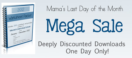 Last Day of the Month Sale Spring 2013 450x200