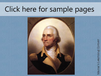 George Washington Sample Pages