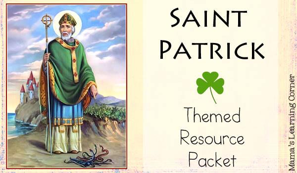 Saint Patrick Themed Resource Packet