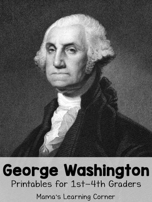 small resolution of George Washington Worksheets - Mamas Learning Corner