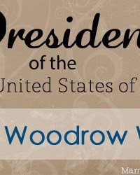 Woodrow Wilson: Facts and Worksheets