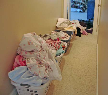 Laundry in Baskets - Mama's Laundry Talk