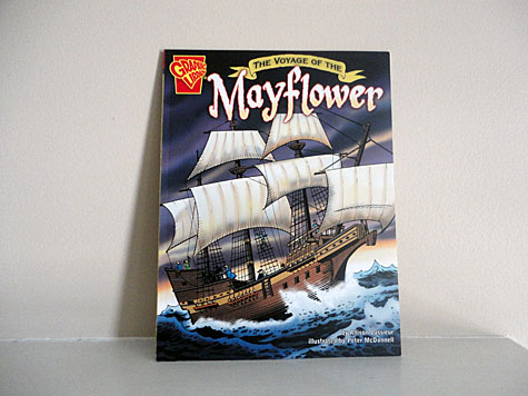 The Voyage of the Mayflower - Graphic Library