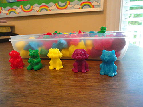 Animal Counters for Preschool and Early Kindergarten Math