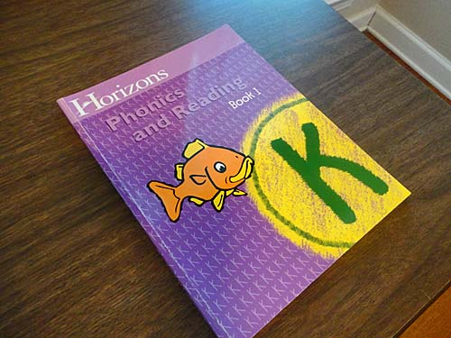 Horizons Phonics and Reading Worksheets