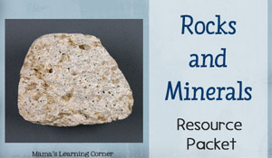 Rocks and Minerals Resource Packet