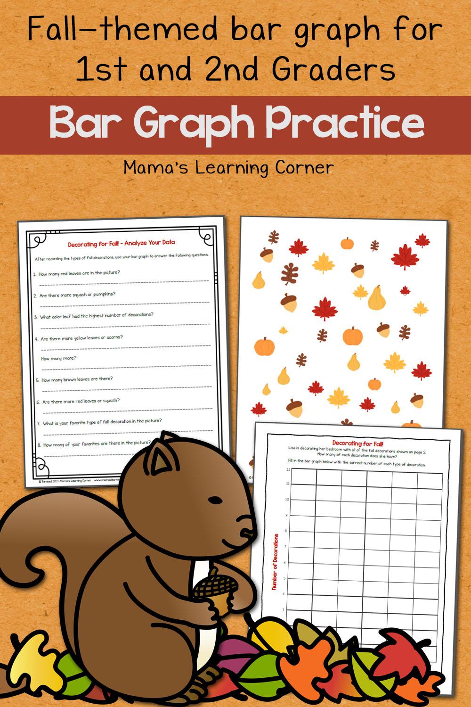 hight resolution of Fall Bar Graph Worksheets - Mamas Learning Corner