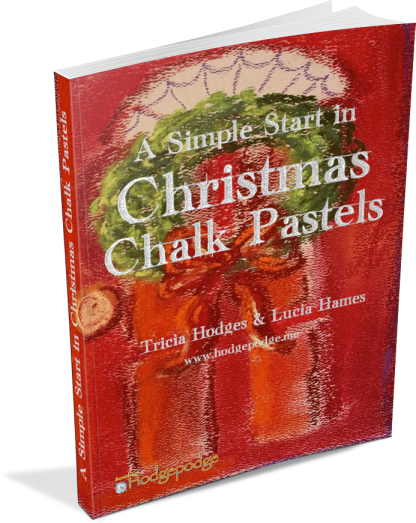 A Simple Start in Christmas Chalk Pastels - 10 tutorials to celebrate the Christmas Season!