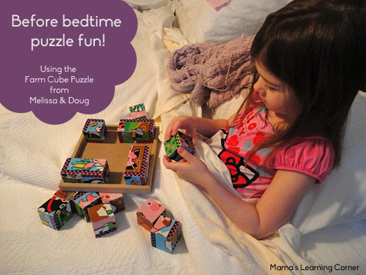 Farm Cube Puzzle from Melissa and Doug