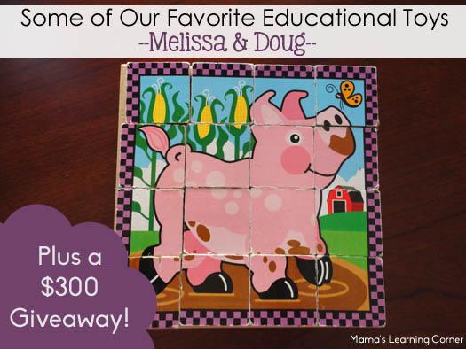 Melissa and Doug Favorite Educational Toys