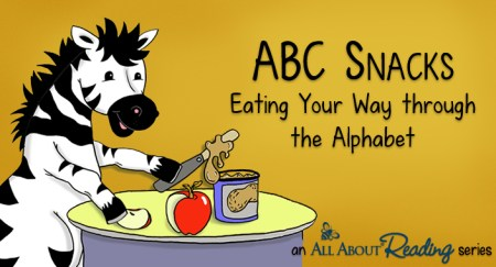 FREE from All About Reading: ABC Snacks - Eat Your Way Through the Alphabet!
