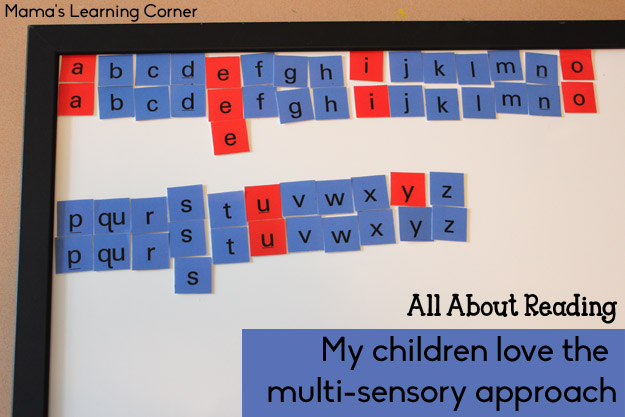 All About Reading - Multi-Sensory Approach