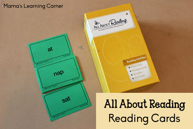 All About Reading - Reading Cards