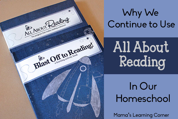 Why We Continue to Use All About Reading in Our Homeschool