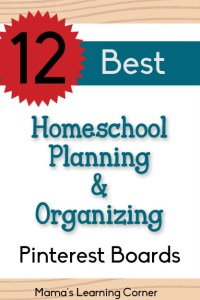 12 Best Pinterest Boards to Help with Homeschool Planning