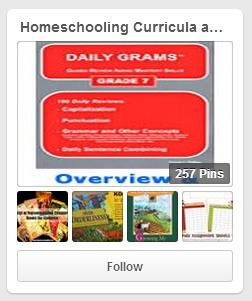 Homeschool Curricula and Planning Pinterest Board