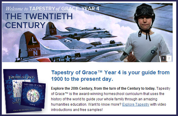 Tapestry of Grace Year 4