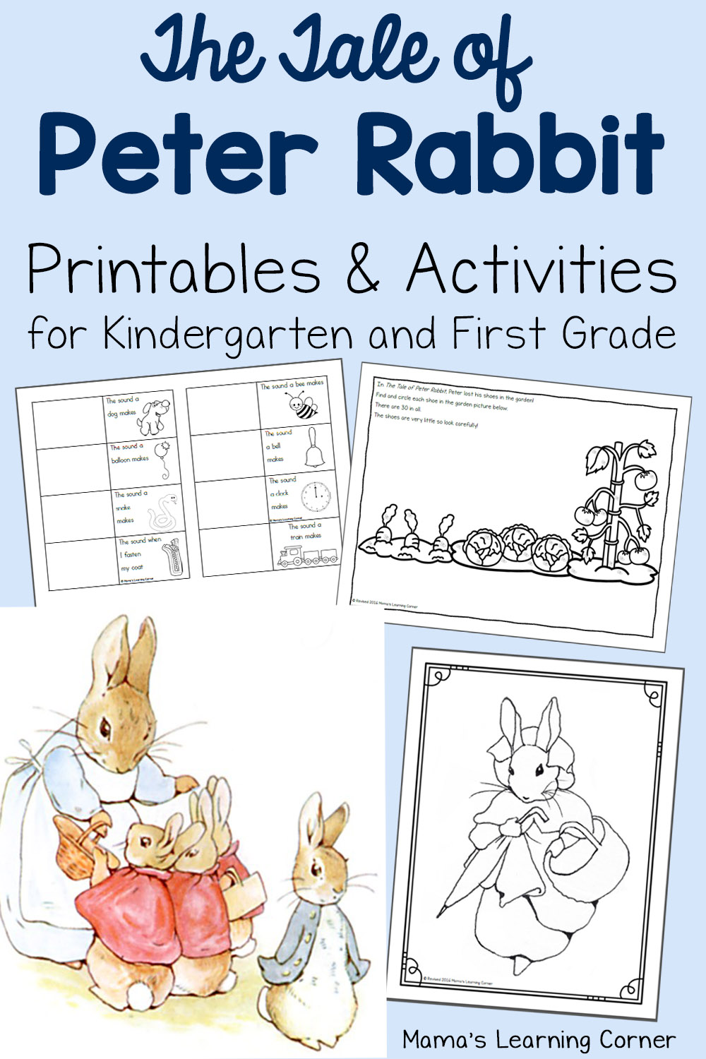 The Tale Of Peter Rabbit Printable Activities Mamas