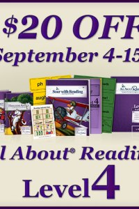 All About Reading: Level 4 is Here and On Sale!
