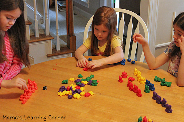 Bear Counters: Dice Game