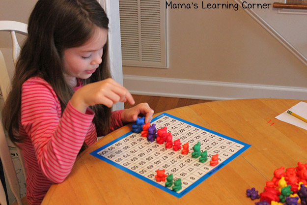 Bear Counters: Skip Counting by 5s