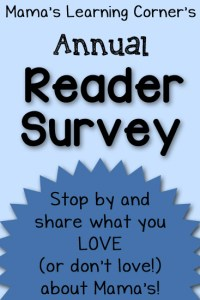 I'd Love Your Feedback! – Reader Survey for 2014
