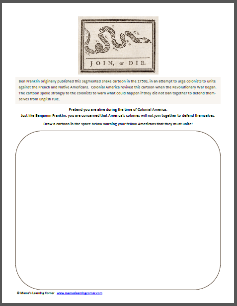 Benjamin Franklin Worksheets