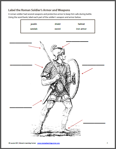 Printables. Ancient Rome Worksheets. Mywcct Thousands of